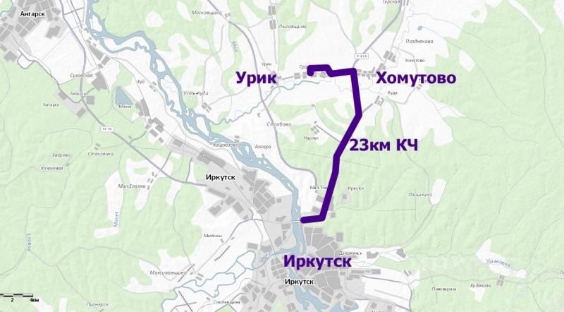 Направление: Качугский тракт